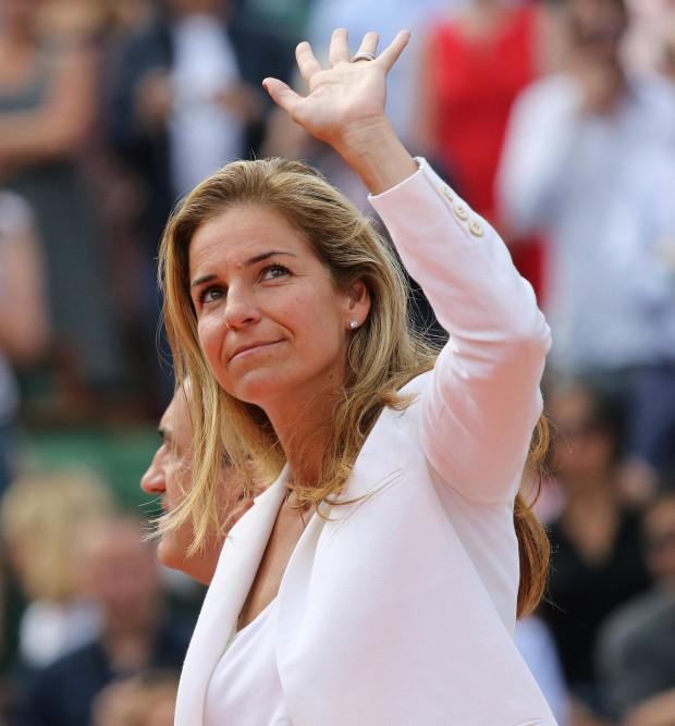 Arantxa, en la final de Roland Garros de 2013 (GTRES).