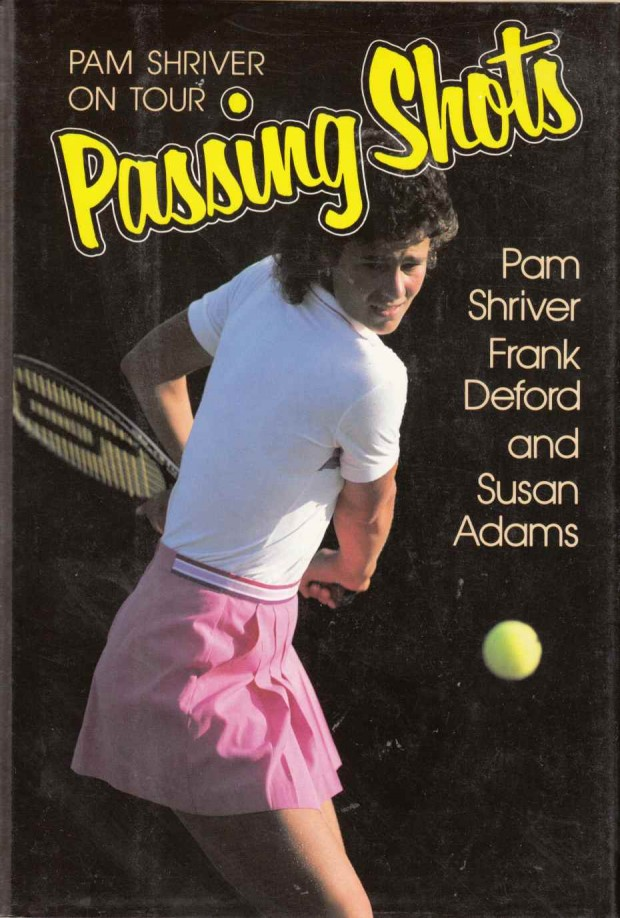 Portada del libro de Pam Shriver 'Passing Shots' (Ed. McGraw-Hill)