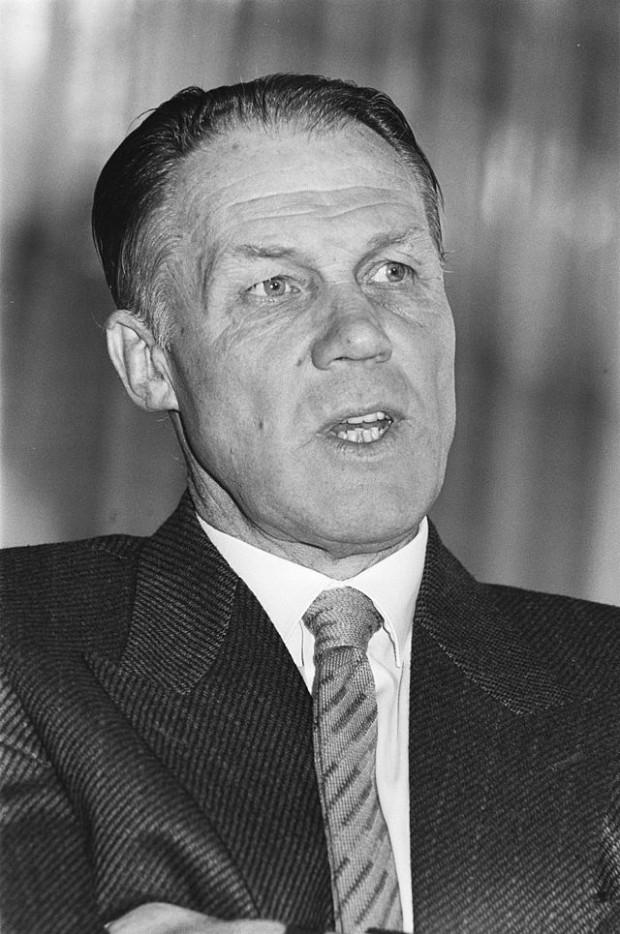 Rinus Michels, en 1984 (WIKIPEDIA).
