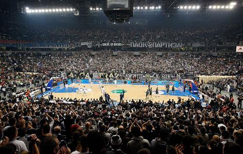 Vista interior del Belgrado Arena (WIKIPEDIA).