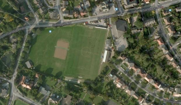 Vista vía satélite de Sandygate Road (GOOGLE MAPS).