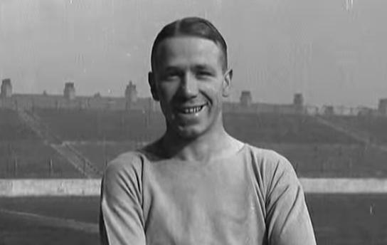 Busby, en su época de jugador del Manchester City (YOUTUBE).