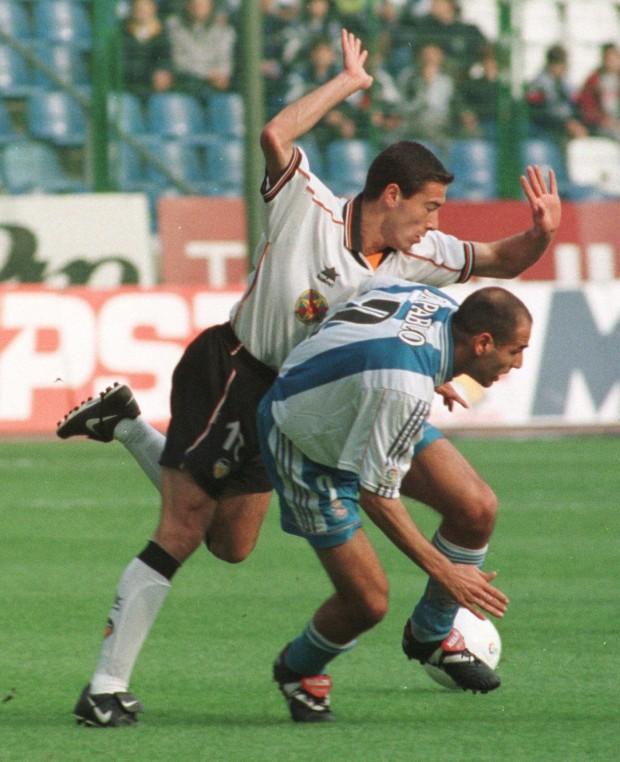 Kily González, en acción en un partido de Liga contra el Deportivo de La Coruña (Archivo 20minutos).