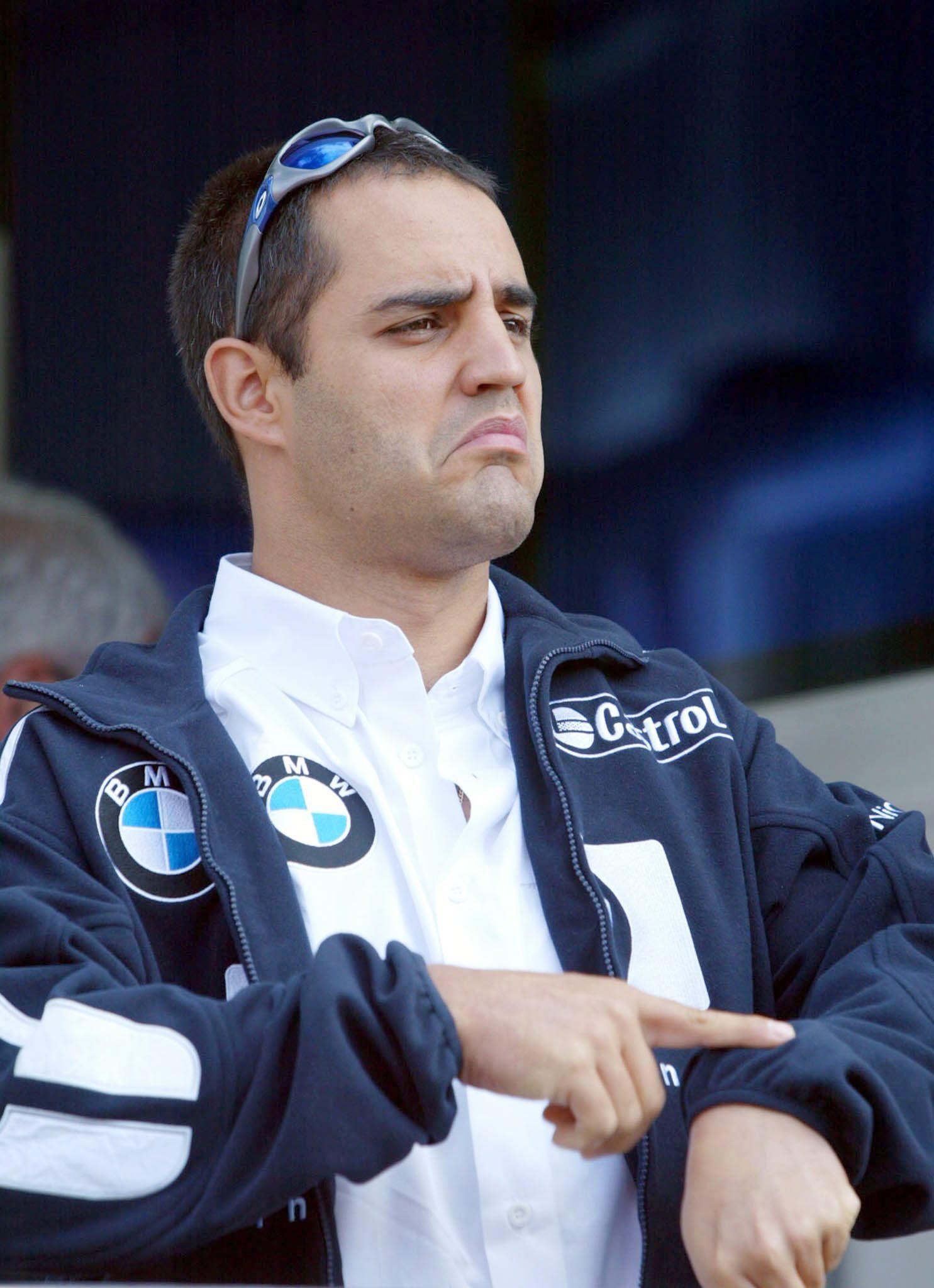 Montoya, antes del GP de San Marino de 2004 (Archivo 20Minutos).
