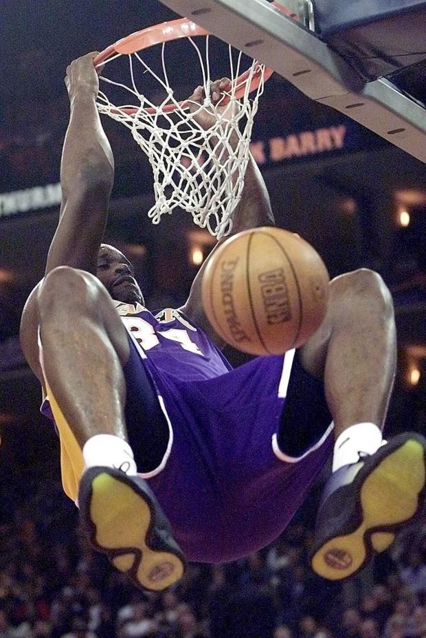 O'Neal, machacando el aro en el All Star de 2000 (Archivo 20minutos).