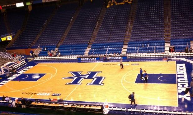 Imagen del interior del Rupp Arena (WIKIPEDIA).