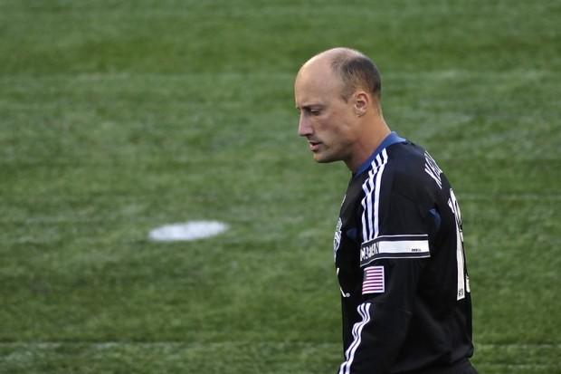 Keller, en un partido de la MLS (WIKIPEDIA).