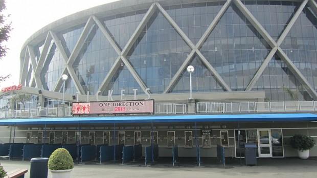 Exterior del Oracle Arena (WIKIPEDIA).