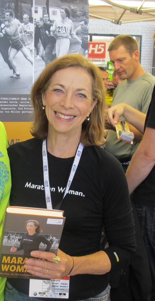 Kathrine Switzer, en 2011 (WIKIPEDIA).