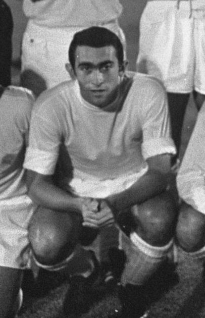 Pirri, posando para el Real Madrid en 1967 (WIKIPEDIA).