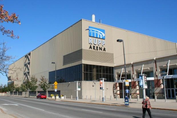 Exterior del Rupp Arena (WIKIPEDIA).