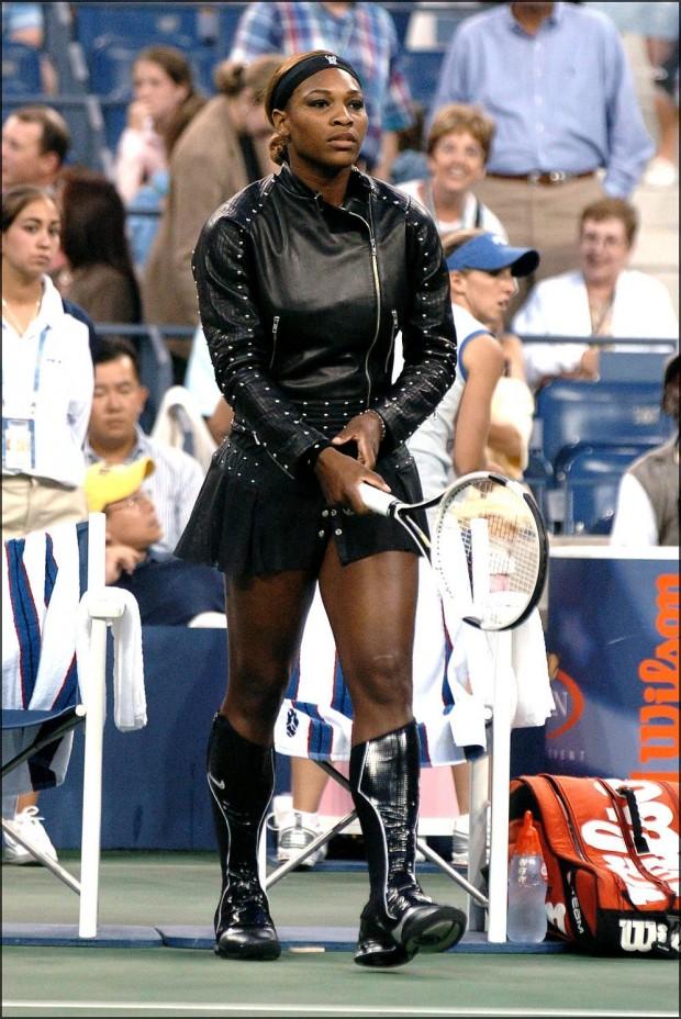 El famoso modelo de Serena Williams en el US Open de 2004 (GTRES).