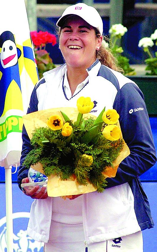 Serna, tras ganar el título de Budapest en 2003 (Archivo 20minutos).