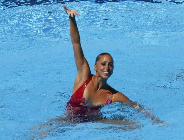 Mengual, en los Mundiales de Roma 2009 (GTRES).