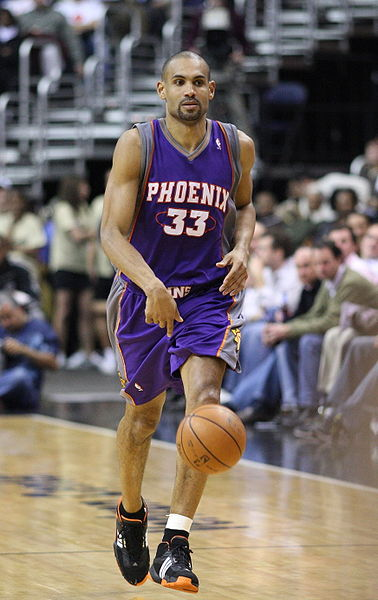 Grant Hill, en su primera temporada en Phoenix, en 2007 (WIKIPEDIA).