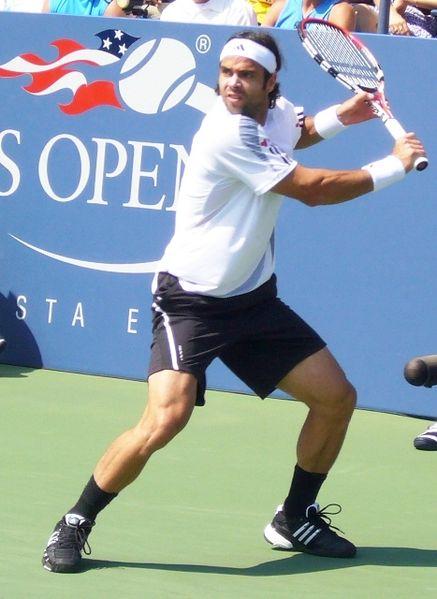 Fernando Gonález, en el US Open de 2009 (WIKIPEDIA).