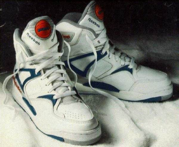 Botas de baloncesto del modelo 'The Pump' (WIKIPEDIA)