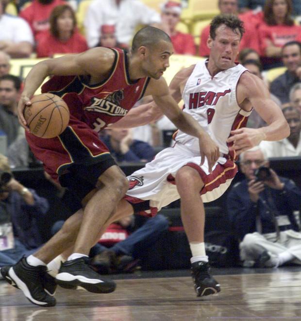 Grant Hill, en un partido entre Detroit y Miami en el año 2000 (Archivo 20minutos).