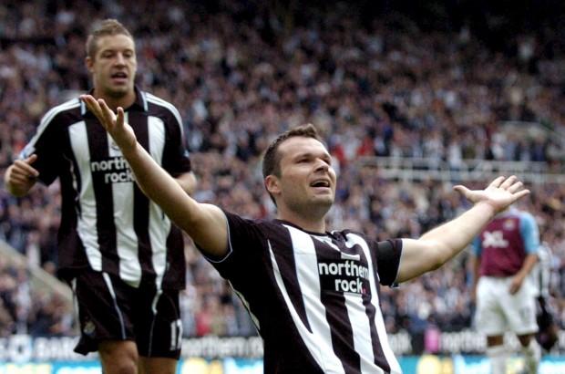 Viduka celebra un gol con el Newcastle en 2007 (Archivo 20minutos).