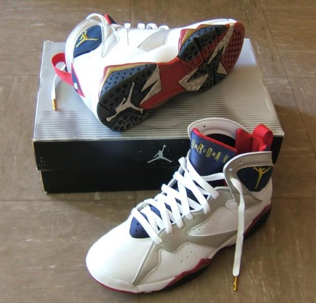 Las Air Jordan VII, que Michael llevó en los Juegos de 1992 (WIKIPEDIA)