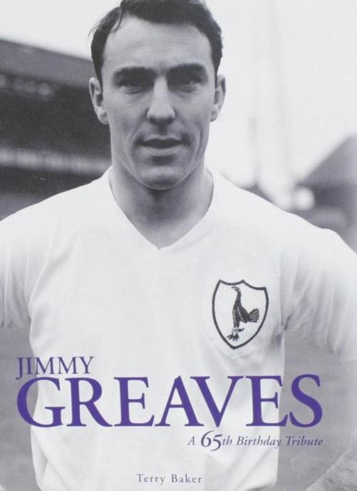 Portada del libro dedicado a Jimmy Greaves por su 65 aniversario (TERRY BAKER).