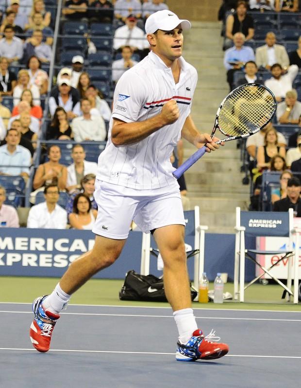 Roddick, en el US Open de 2012 (Archivo 20minutos).