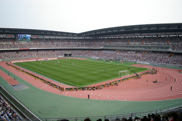 Vista del Estadio Internacional de Yokohama, en 2008 (WIKIPEDIA).