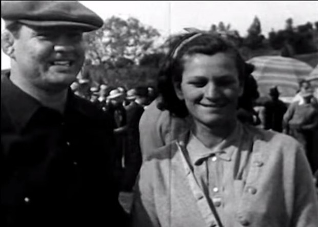 George y 'Babe' Zaharias, tras un torneo de golf (YOUTUBE).