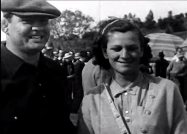 George y 'Babe' Zaharias, tras un torneo de golf (YOUTUBE).