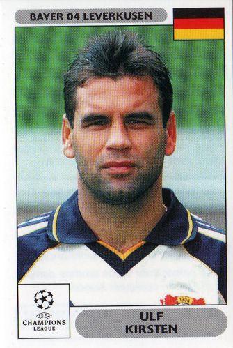 Cromo de Kirsten de la temporada 2000-2001 (PANINI).