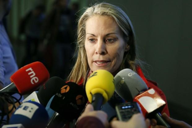 Zabell, en septiembre de 2013, en la llegada de la delegación de Madrid 2020 a Buenos Aires (Archivo 20minutos).