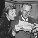 Fanny y Jan Blankers, en 1948 (WIKIPEDIA).