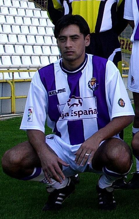 Ciric, en la presentación del Valladolid en 2000 (Archivo 20minutos).