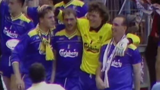 Los jugadores del Wimbledon celebran el título de la FA Cup del 88 (YOUTUBE).
