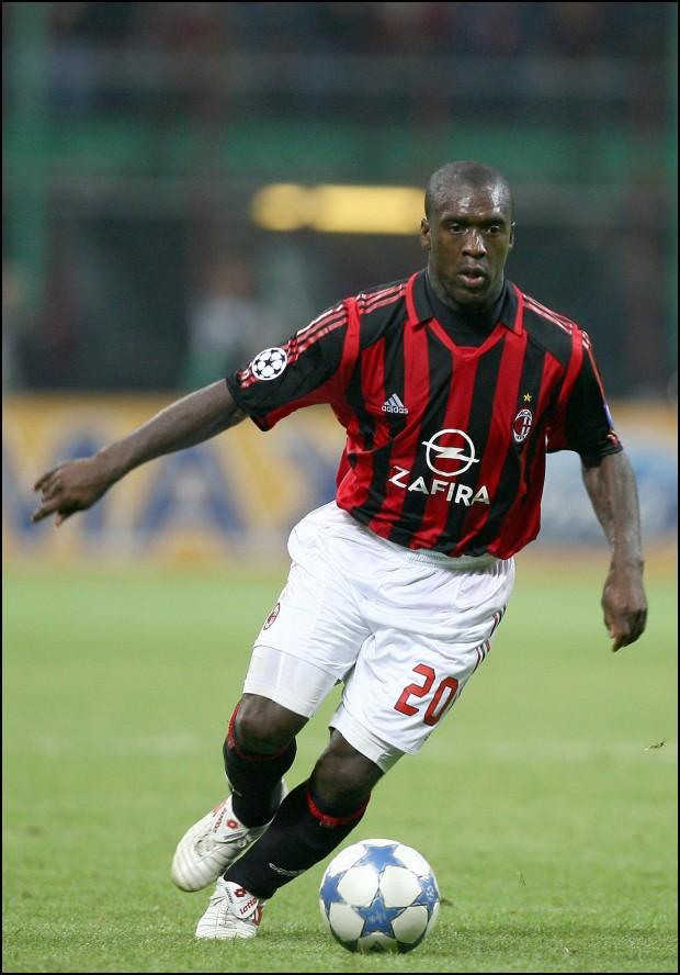 Seedorf, en un Milan-Barça de la temporada 2006-2007 en Liga de Campeones (GTRES).
