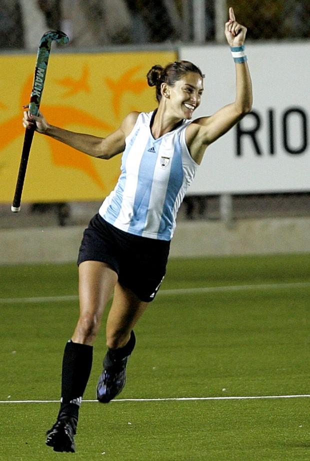 Aymar, celebrando un gol con su selección en 2007 (GTRES).