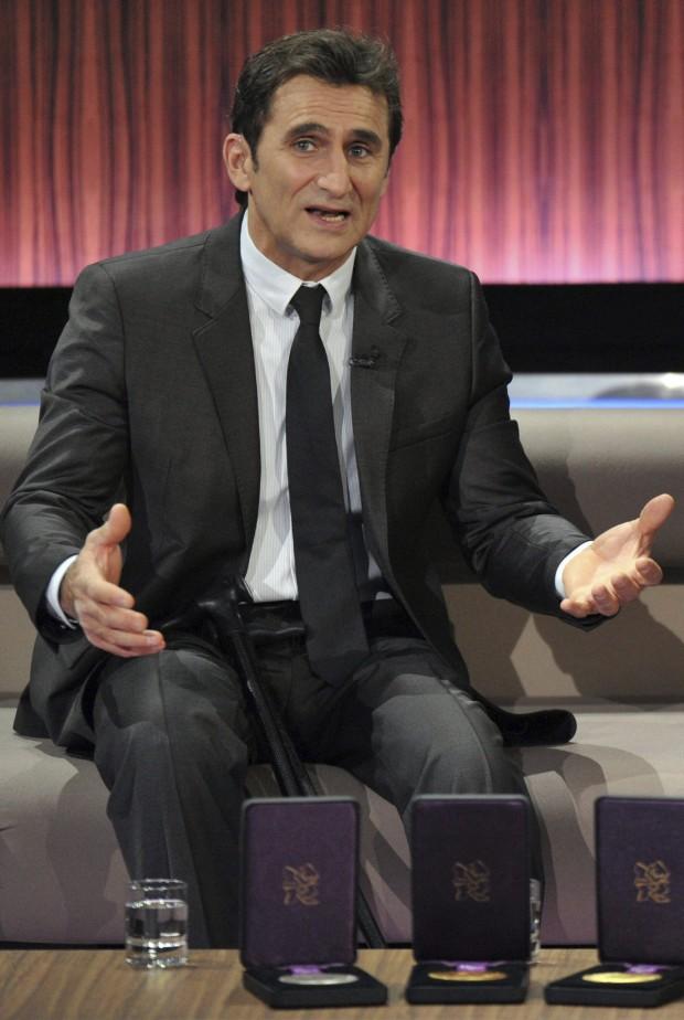Zanardi, siendo entrevistado en Alemania en 2012 (Archivo 20minutos).