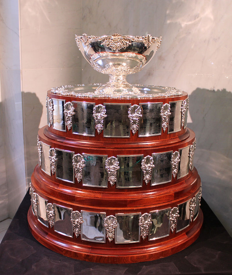 Foto de la Copa Davis tomada en 2012 (WIKIPEDIA).