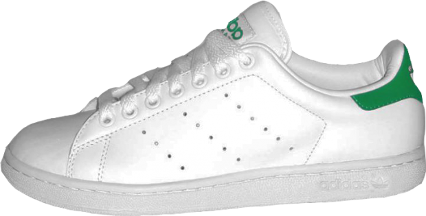 huge discount f76ae a2b69 Un modelo de Stan Smith de Adidas (WIKIPEDIA).