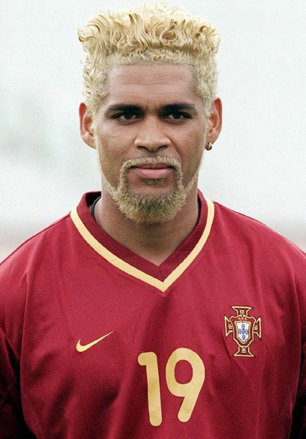 Abel Xavier, con la selección portuguesa (Archivo 20minutos).