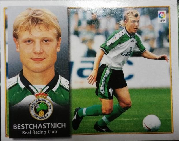 Cromo de Beschastnykh correspondiente a la temporada 98/99 (Ed. Este).