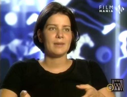 Egerszegi, en una entrevista en la tele húngara (YOUTUBE).