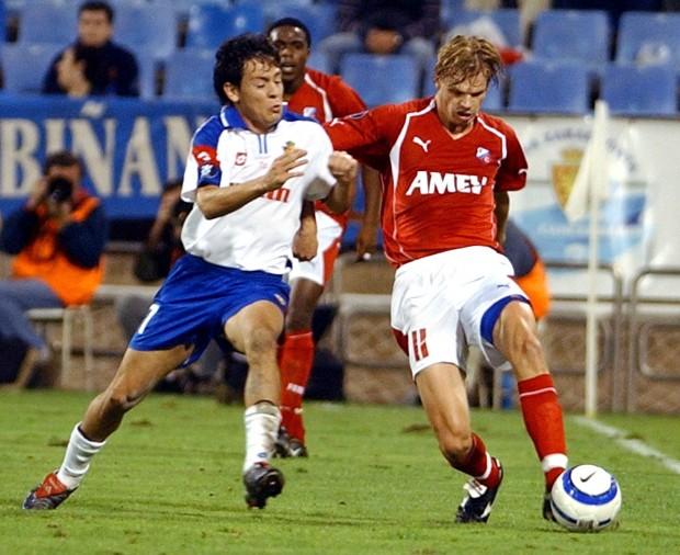 Galletti, en noviembre de 2010, en un partido antre el Utrecht de Países Bajos correspondiente a la Copa de la UEFA de aquella temporada (Archivo 20minutos).