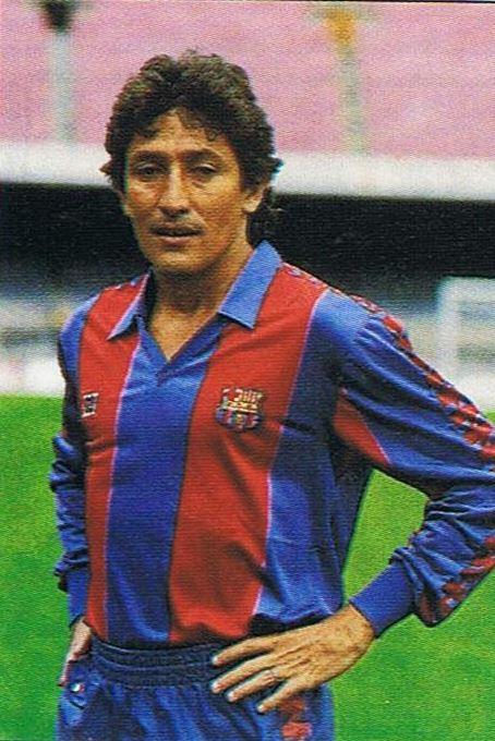Romerito, en su presentación con el Barça (EFE).