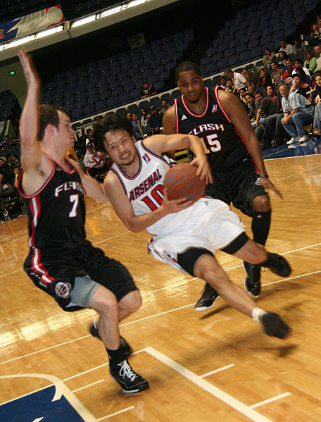Yuta Tabuse, en los Anaheim Arsenal de la D-League (WIKIPEDIA).