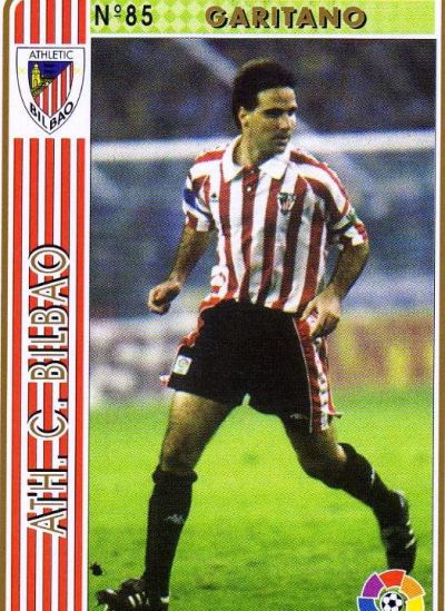 Cromo de Garitano en su época del Athletic (LFP).