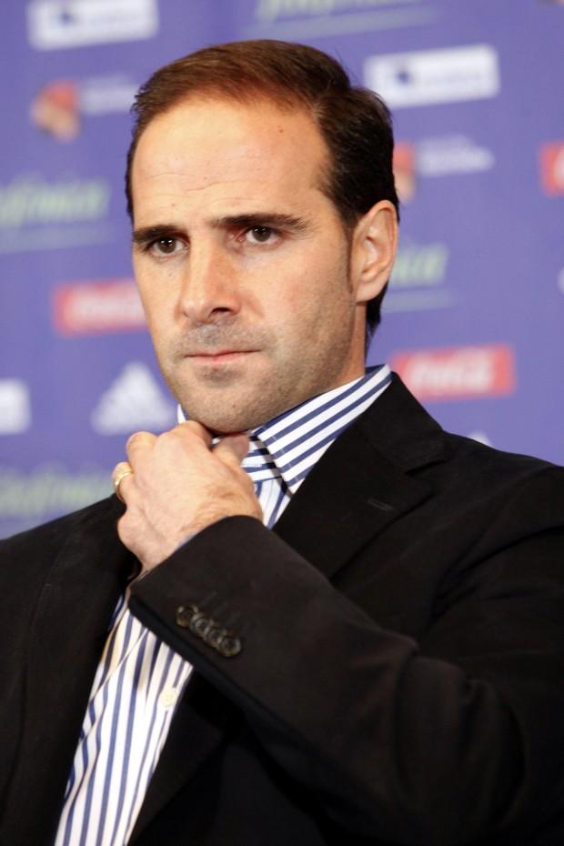 Garitano, al ser presentado como técnico del Zaragoza (Archivo 20minutos).