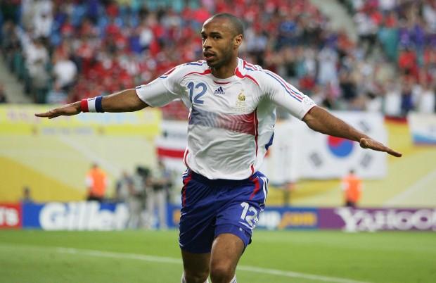 Henry, celebrando un gol en el Mundial de Alemania 2006 ante Corea del Sur (Archivo 20minutos).