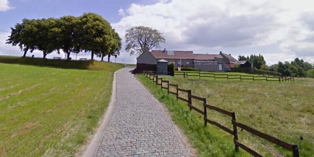 Imagen del tramo de adoquines de Paterberg (Google Street View).