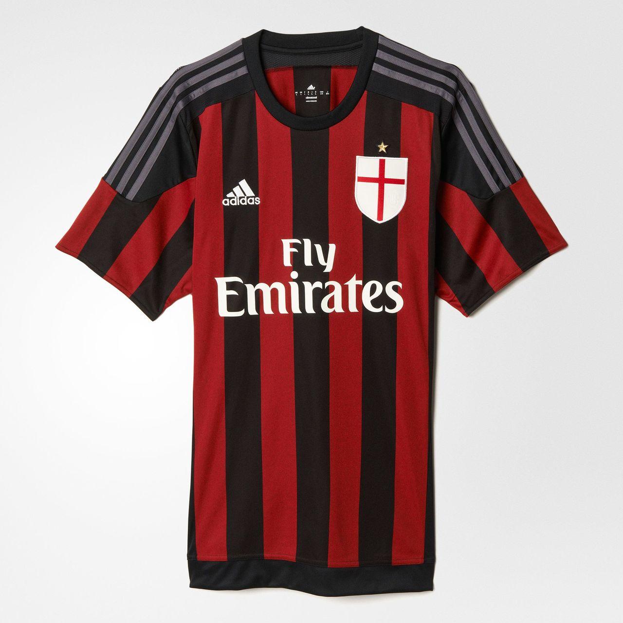 Camiseta del AC Milan (ACM). 25530e23e8367